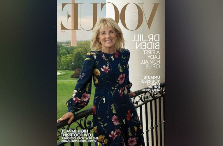 First lady Jill Biden on cover of Vogue magazine's August issue: 'GMA' exclusive 1st look