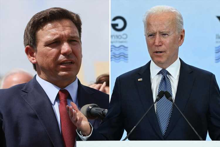 Florida Governor Ron DeSantis slams Biden for being 'passive' at G7 & helping 'European Elites' & not American workers