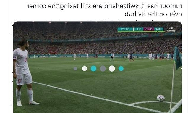 Football fans complain ITV Hub delays France-Switzerland Euros match