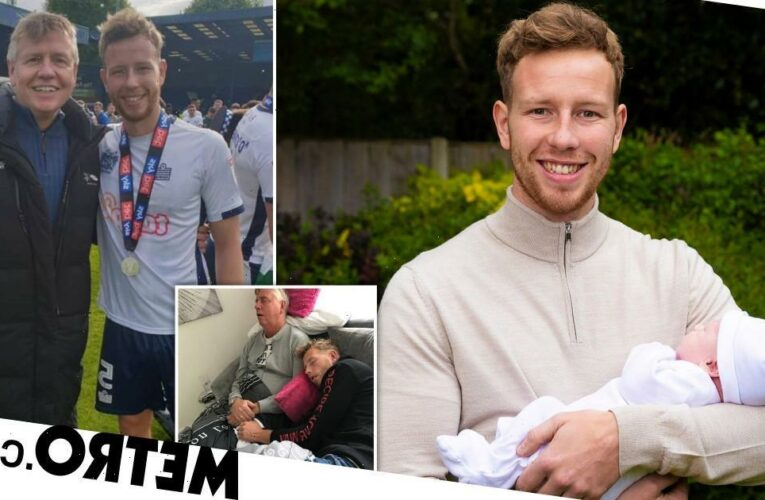 Footballer Adam Thompson on losing father to cancer six months after diagnosis