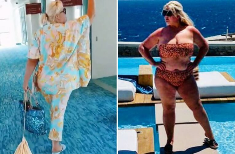 Gemma Collins reveals she doesn't pack ANY luggage for trips away – and buys all her designer clothes on holiday
