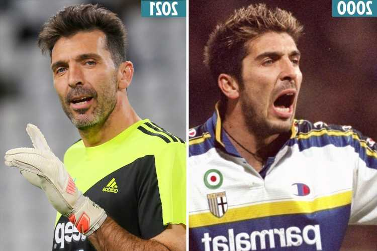 Gianluigi Buffon makes emotional return to Parma on free transfer aged 43 – 20 years after quitting for Juventus