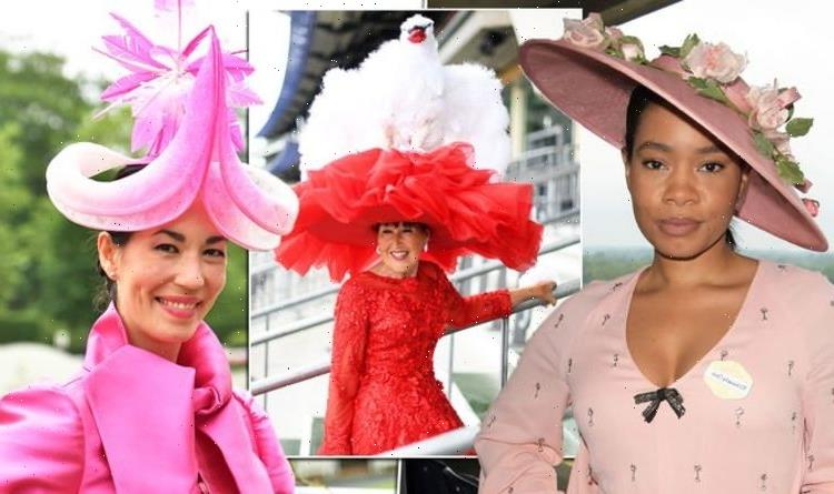 Giant swan leads incredible hats at Royal Ascot 2021 Ladies Day