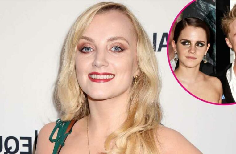 Harry Potter's Evanna Lynch Teases Emma Watson, Tom Felton Crush 'Hormones'