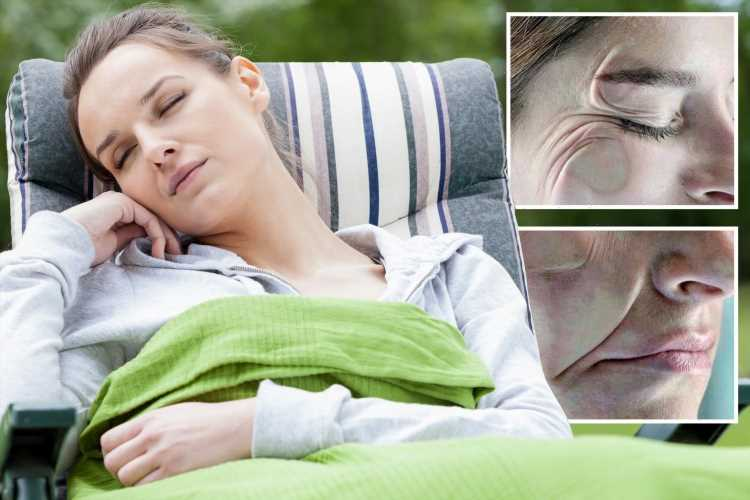 Have you got nap face? Sleeping the wrong way can cause wrinkles, sagging and puffiness – here's how to turn back time