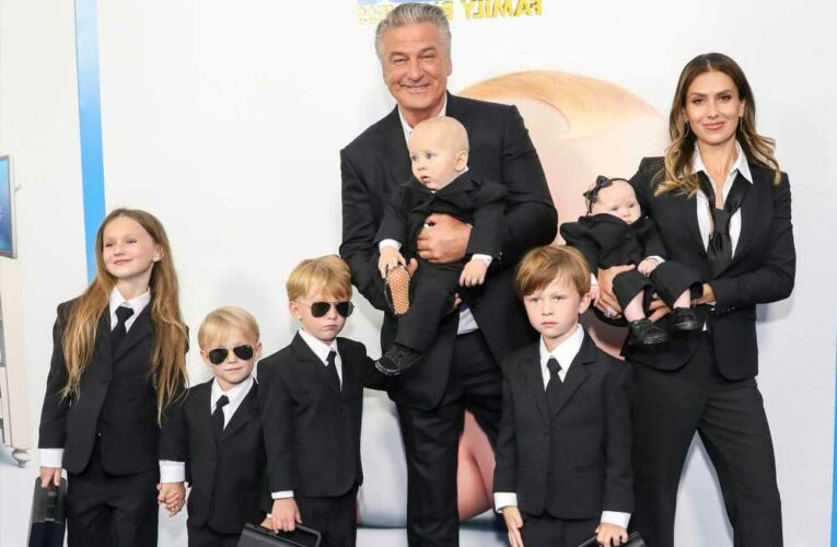 Hilaria Baldwin returns to the red carpet after Spanish heritage scandal