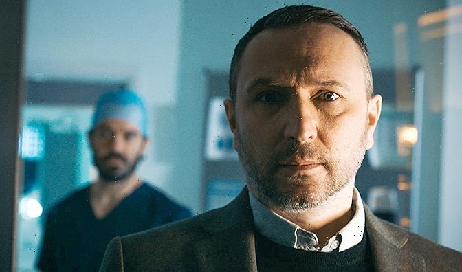 Holby City fans in tears as Fletch lashes out at Kian for saving a drug dealer over his daughter
