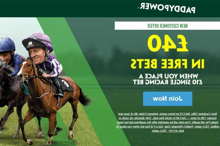Horse racing betting offer: Get £40 in free bets for horse racing this weekend with Paddy Power