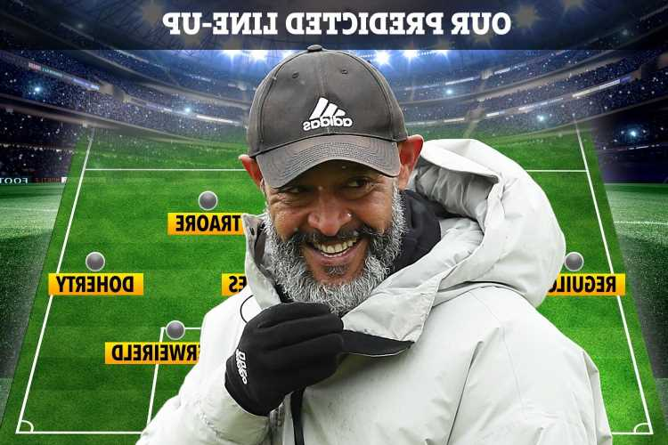 How Tottenham could line up under Nuno Espirito Santo with Jimenez replacing Kane after transfer raid on Wolves