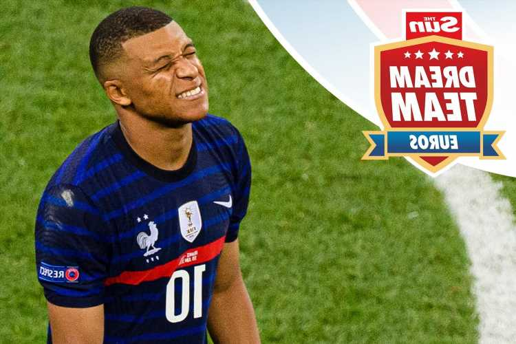 How to replace your France players and fix your Dream Team Euros XI