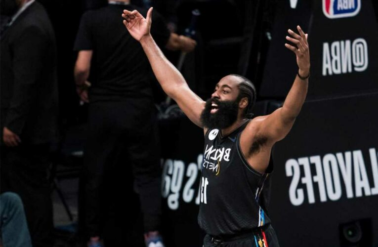 James Harden is a Nets hero for playing on one leg
