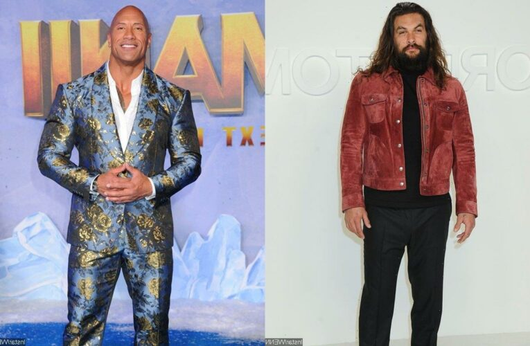 Jason Momoa Still Holding on to Hope to Make Movie With 'Way Busier' Dwayne Johnson