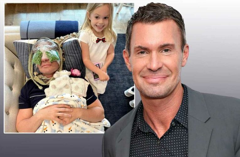 Jeff Lewis recovering from cosmetic eye surgery