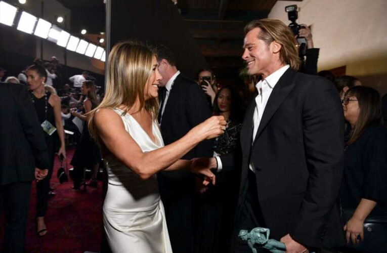 Jennifer Aniston says 'there's no oddness' with ex-husband Brad Pitt