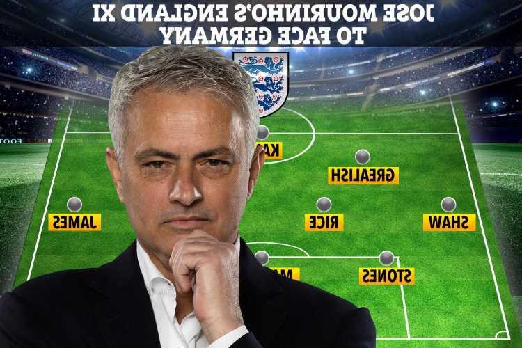 Jose Mourinho picks England XI to face Germany with Kyle Walker our secret weapon for Euro 2020 showdown