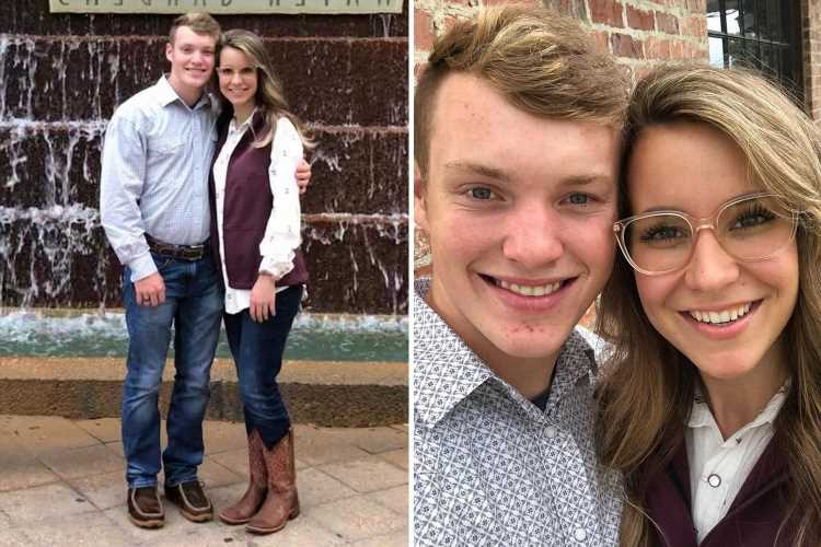 Justin Duggar, 18, and wife Claire, 20, have a 'Texas style date' after his brother Josh's arrest on child porn charges