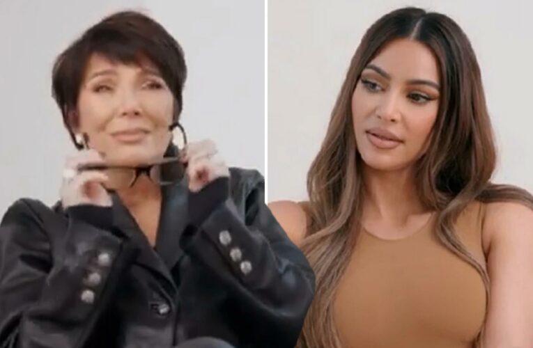 KUWTK finale features Kris Jenner breaking down in tears as Kim Kardashian reveals she's 'not happy' with Kanye West