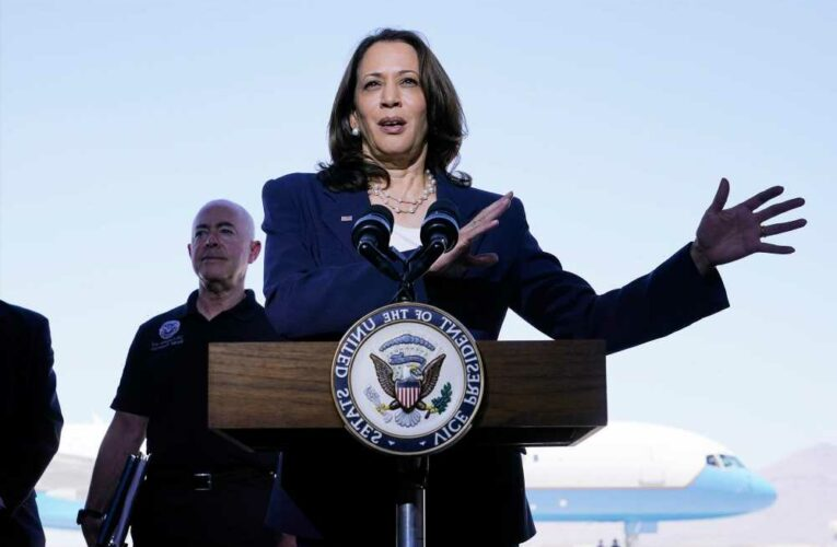 Kamala Harris doesn't actually visit border, says nothing of substance, leaves — it was all theater