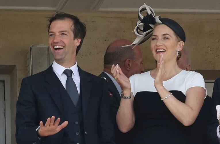 Kate Winslet gushes over 'superhot' husband Edward Abel Smith