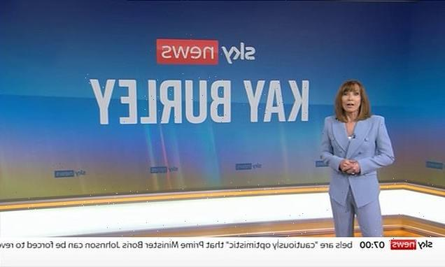 Kay Burley returns to Sky after being suspended for breaking lockdown