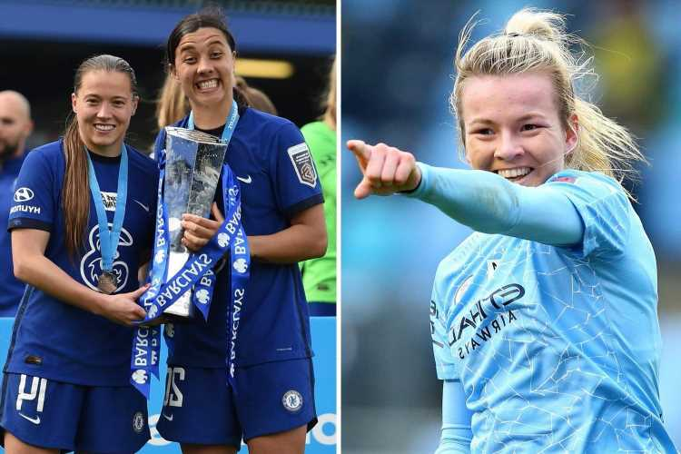 Kirby, Kerr and Hemp among Chelsea and Man City stars nominated for PFA gong