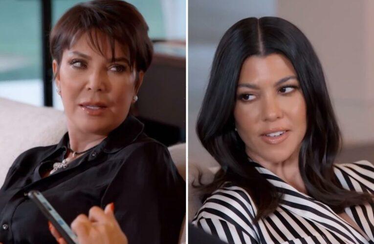 Kris Jenner tells Kourtney Kardashian to 'grow old' with ex Scott Disick in new KUWTK clip before Travis Barker romance