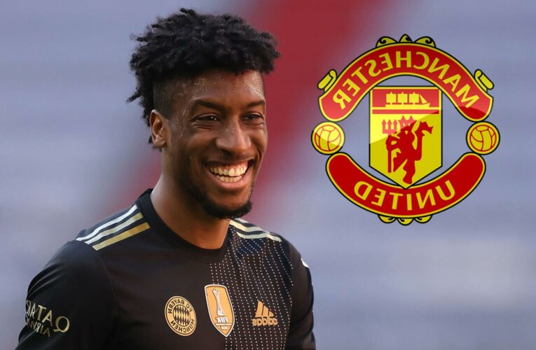 Man Utd told Kingsley Coman will cost £60m transfer fee by Bayern Munich and winger IS now in plans for next season