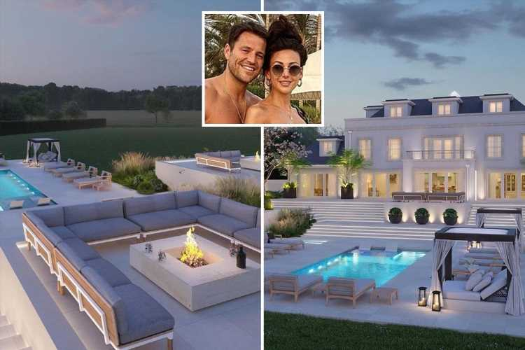 Mark Wright reveals incredible pictures of huge pool and garden at £1.3m 'dream home' with Michelle Keegan in Essex