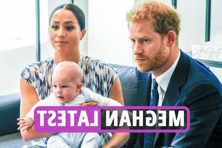 Meghan Markle news latest – Prince Harry to 'offer olive branch' & bring son Archie to UK as Meg sits out Diana statue