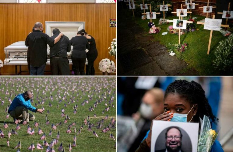 More than 600K people have died from COVID-19 in US