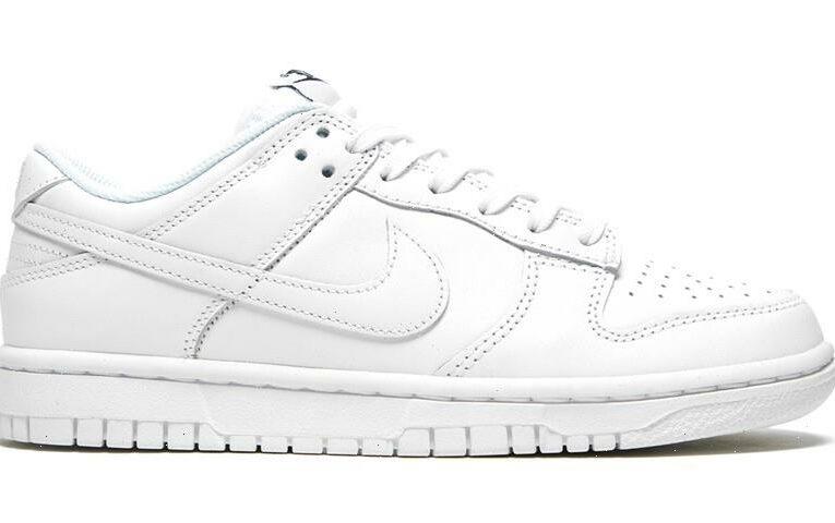 """Nike Dunk Low """"Triple White"""" Offers Monochromatic Summer Style"""