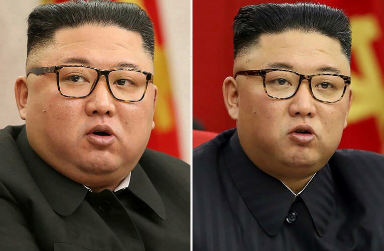 North Korean dictator Kim Jong-un warns of 'tense' food situation as new slimmed-down pics spark health fears