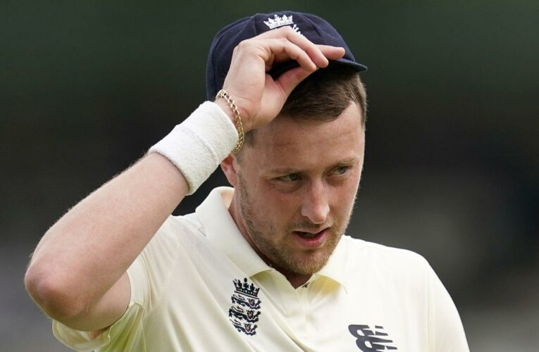 Ollie Robinson 'embarrassed' by racist, sexist tweets he sent in 2012 as he makes his England Test debut