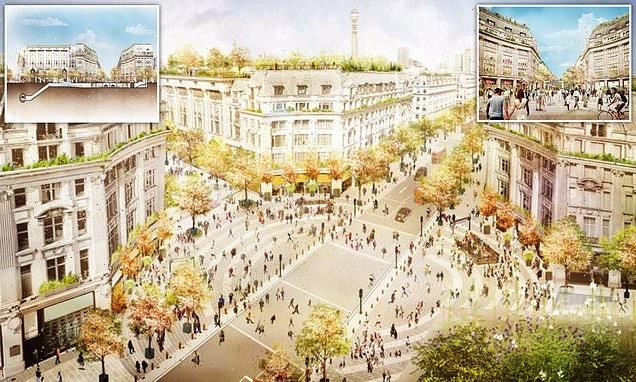 Oxford Circus is to be turned into Italian-style piazza