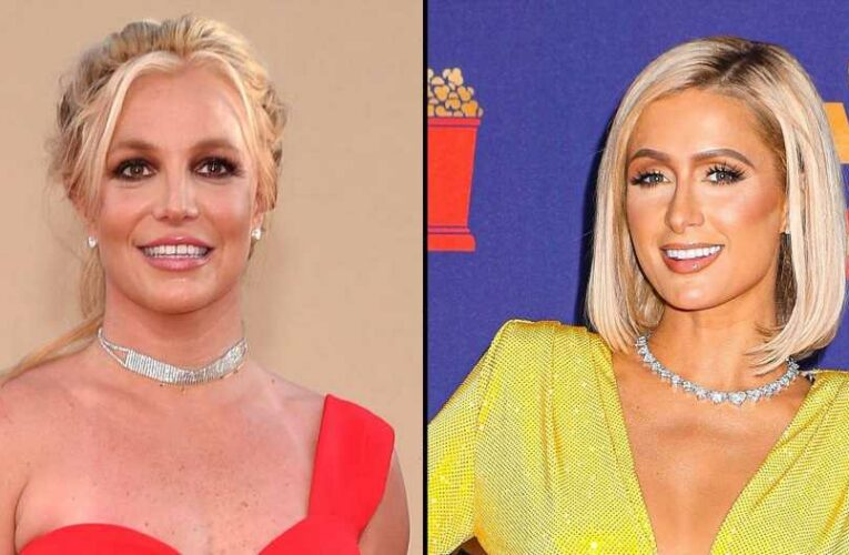Paris Hilton Shows Britney Spears 'Love' in Vegas After Hearing Comments