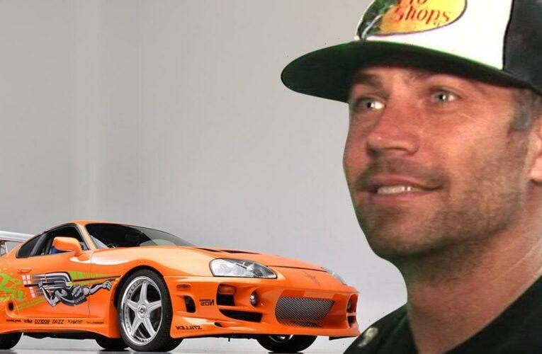 Paul Walker's Toyota Supra Car He Drove in 'F&F' Sells for $550k