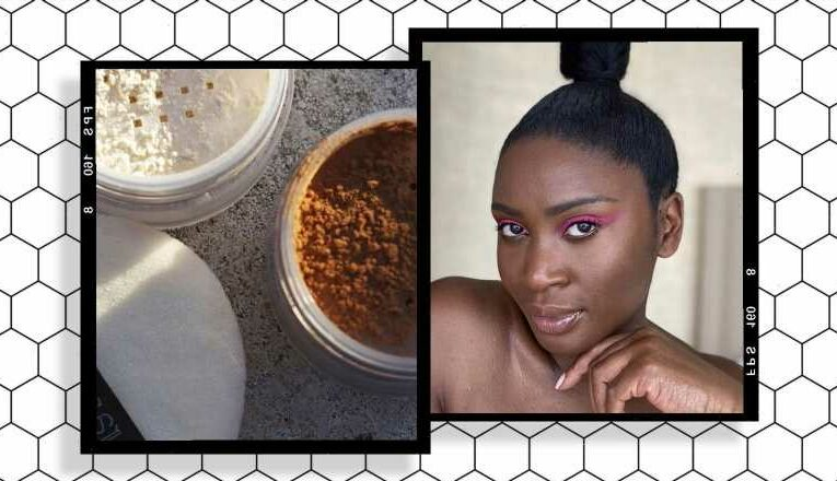 Pretty Damn Good: the setting powder this make-up artist relies on to reduce shine