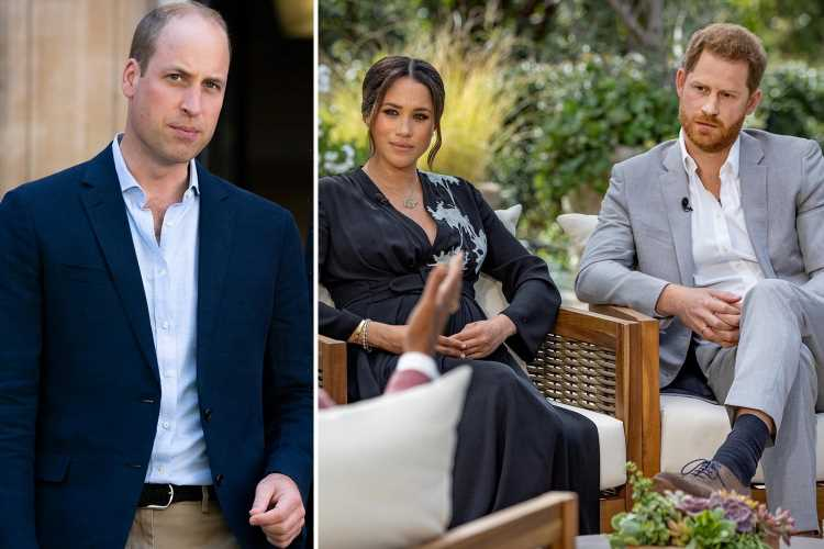 Prince Harry & Prince William were 'at each other's throats' as soon as cameras were turned off at Philip's funeral