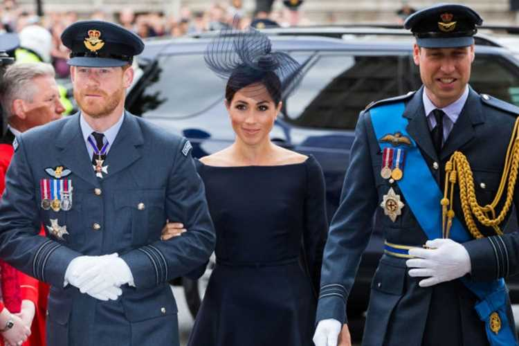 """Prince Harry 'can't heal rift with William as he's """"so under Meghan Markle's thumb"""" and she'd """"bite his head off""""'"""