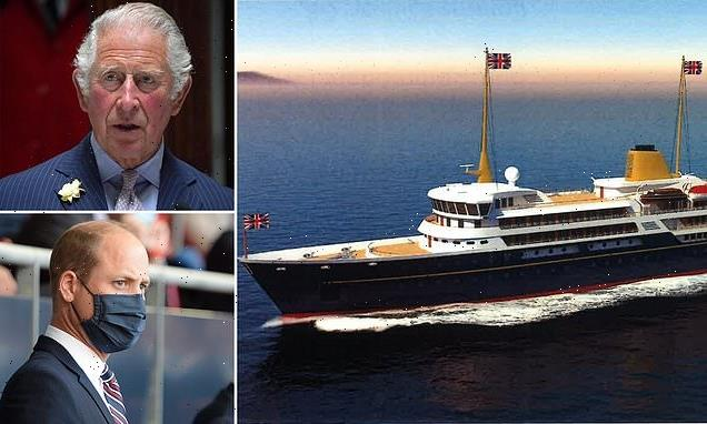 Princes Charles and William will NOT use Royal Yacht for family trips