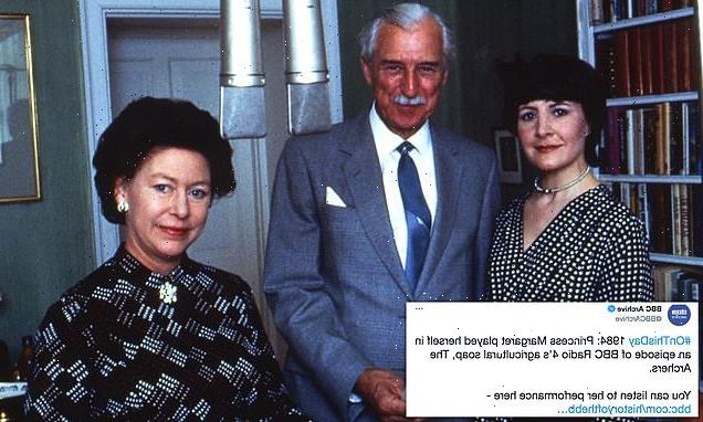 Princess Margaret joined cast of a countryside radio show 37 years ago