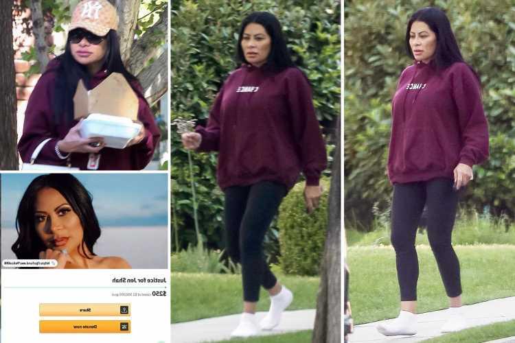 RHOSLC's Jen Shah swaps designer clothes for sweats after fans bash cousin's $2.5M GoFundMe to pay her legal bills