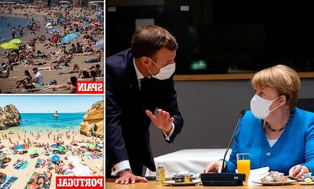 ROSS CLARK: Merkel trying to ban tourists looks like Riesling grapes