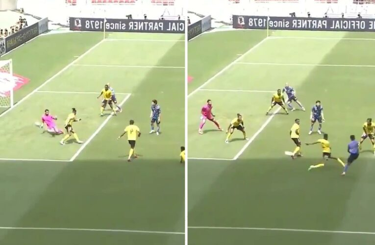 Real Madrid starlet Takefusa Kubo scores outrageous quadruple nutmeg goal for Japan against Jamaica