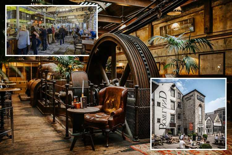 Ribble Valley's textile factory converted to stunning hotel with 105ft beer hall
