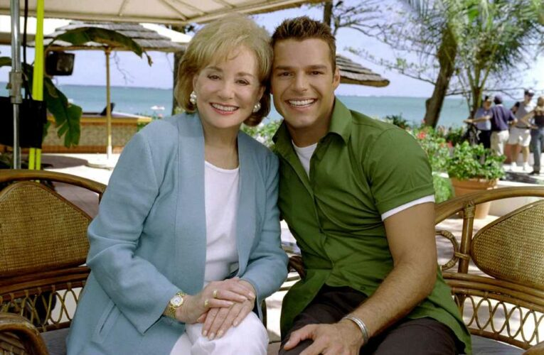 Ricky Martin says interview with Barbara Walters left him with PTSD