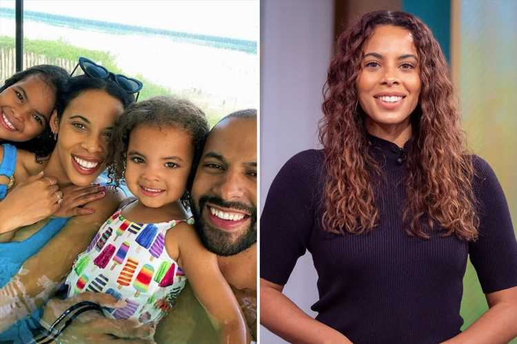 Rochelle Humes bans her daughter Alaia, 8, from TikTok – overruling husband Marvin