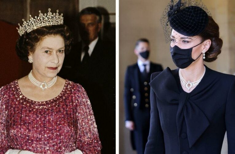 Royal family members who have borrowed something special from The Queen including Kate's tiara