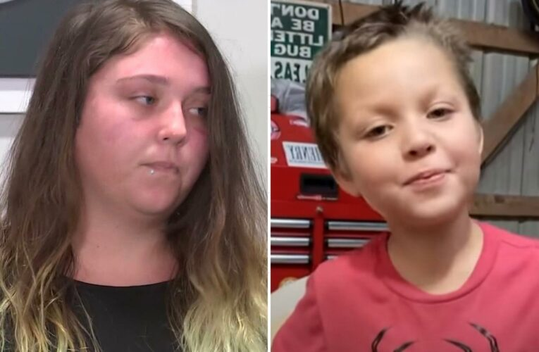 Samuel Olson's mom was fighting to get slain boy, 5, back for MONTHS before 'kid was killed and wrapped in plastic'