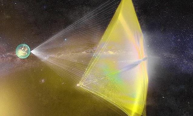 Scientists are developing a laser-powered SAIL to reach Alpha Centauri